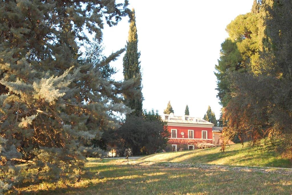 La Villa in inverno