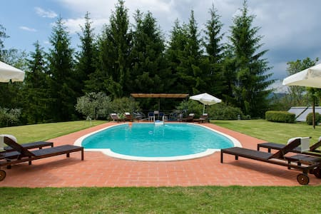 Relax in farmhouse on Tuscan hills! - Province of Pistoia - Apartmen