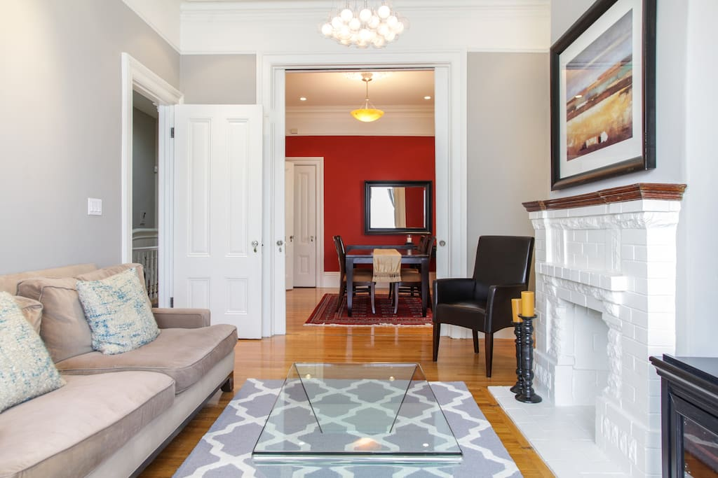 Trendy NOPA 2BD flat with parking