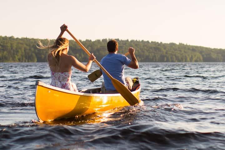 Life is a canoe trip.