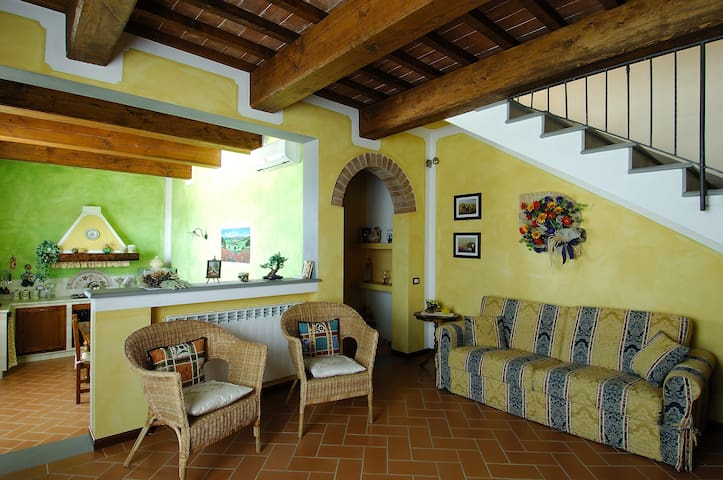 Beautiful apartment  in Tuscany - Castelfiorentino - Wohnung