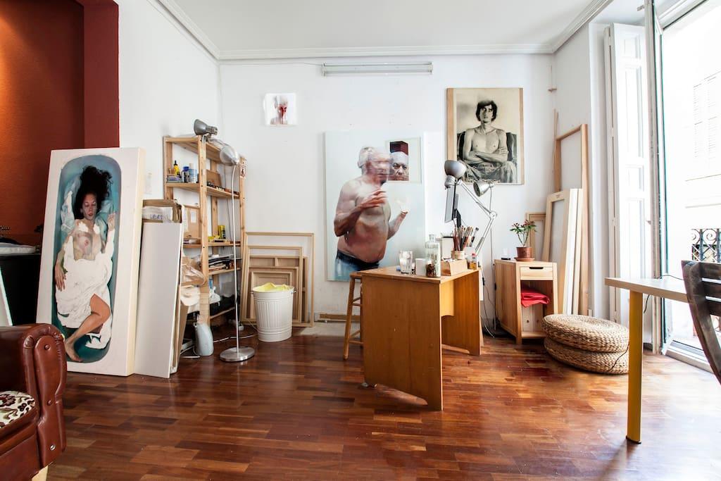 Salón-Estudio/ Livingroom-studio