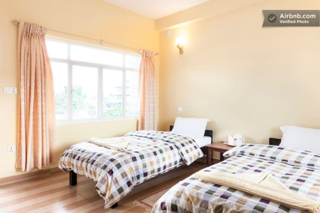 Double room with private balcony, top floor
