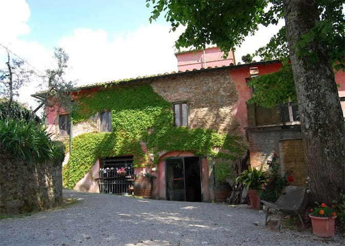 in a charming Chianti Farm-house