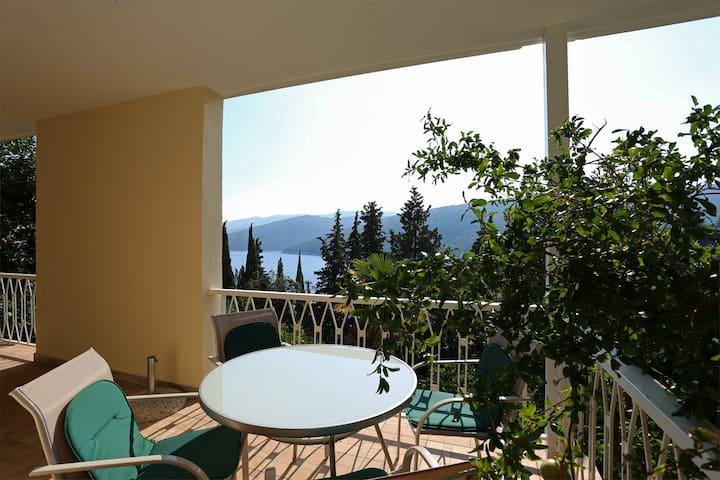 4persons app,balcony,sea view,WiFi