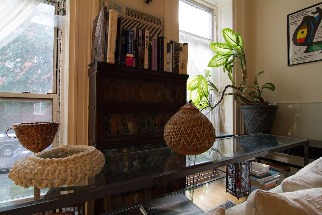 Detail, living room.