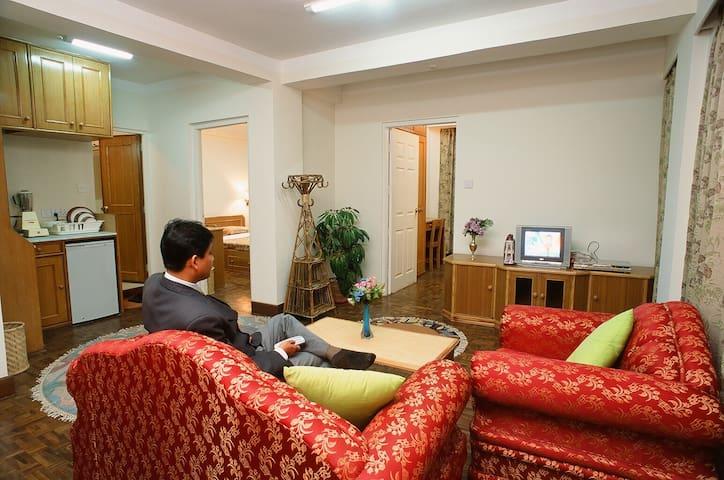 2 Bedroom Standard Suite at Himalaya Apartment
