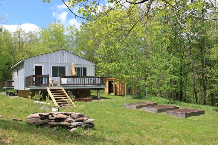 Cabin in the Beautiful Catskills - Andes - Casa