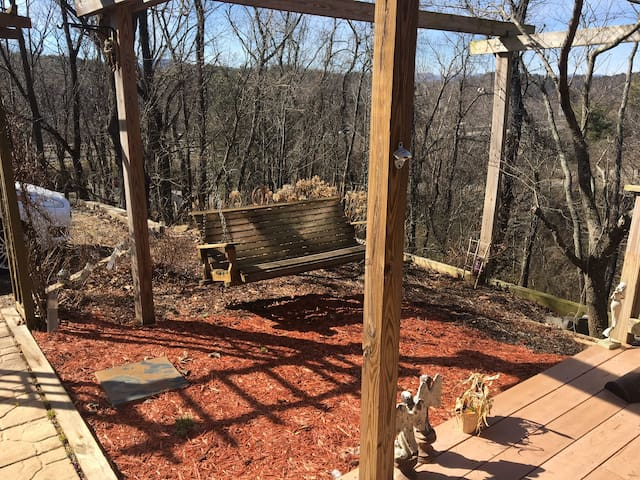 North Asheville - Radiant Heat Floors/Fireplace