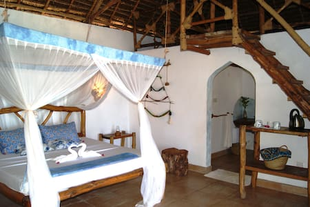Afrika bungalow at Karamba Boutique Hotel