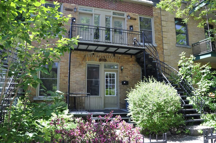 Your home away from home! Mile End - Montreal - Departamento