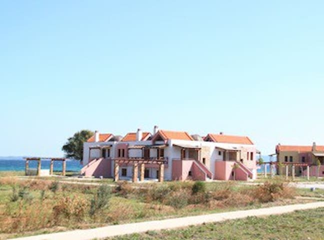 Modern House 70sqm on the beach. - Ierissos - 別荘