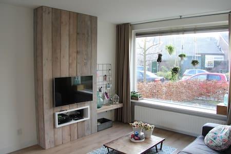 Mooie rustige uitvalbasis in midden Nederland. - Scherpenzeel - Ház