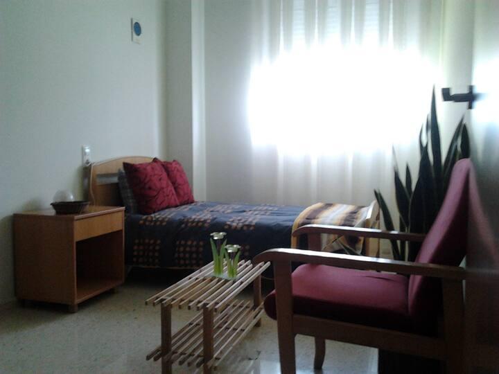 habitación soleada