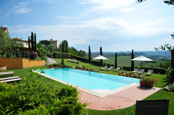 Tuscany | Studio with terrace and pool | Chianti