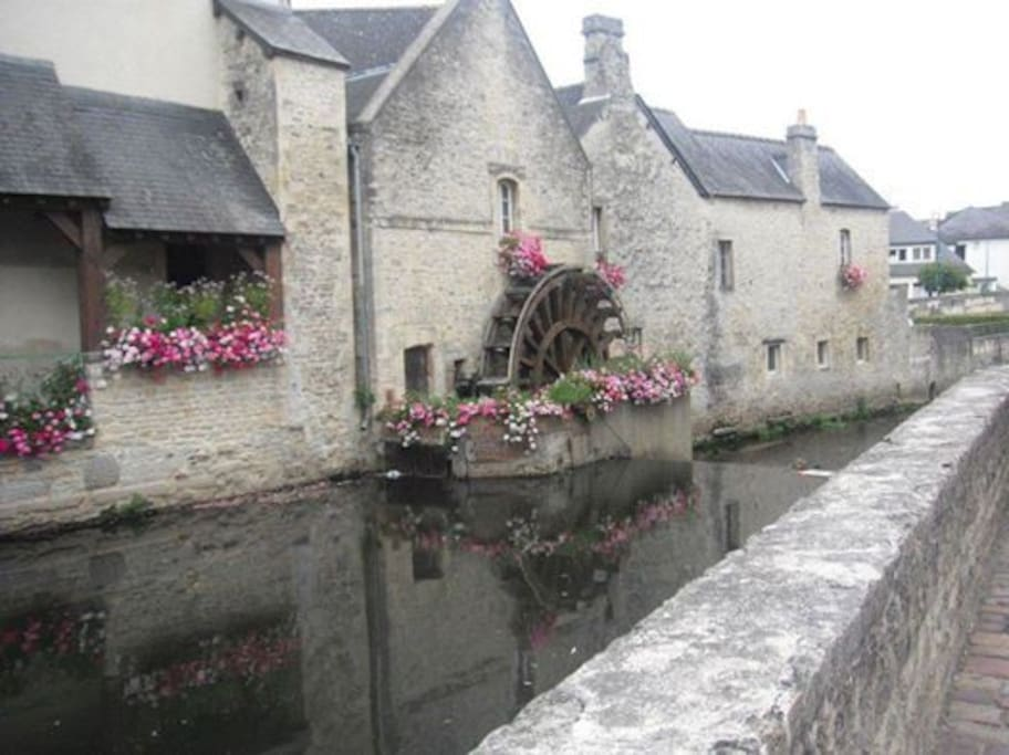 The Medieval City of Bayeux 15 mins drive