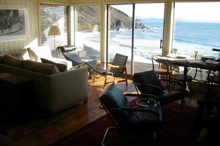Ocean Front Property - Beach House - Muir Beach - Talo