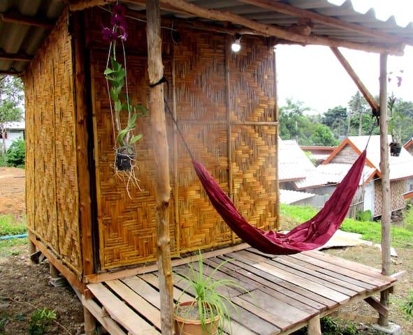 Asama Bungalow 1 (Bamboo Cottage Futon bed )