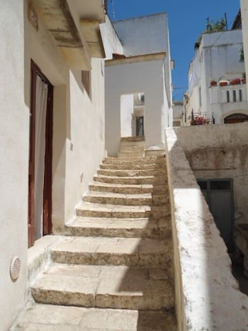 Matino 1 bed flat with roof terrace - Matino - Daire