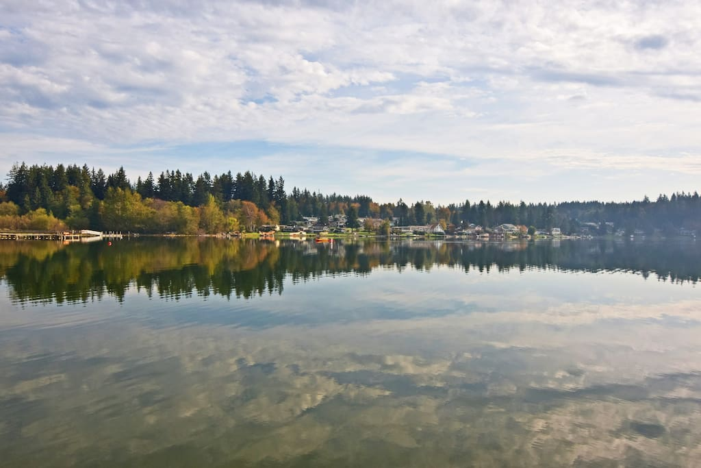 Welcome to Stanwood! This lakefront home is professionally managed by TurnKey Vacation Rentals.