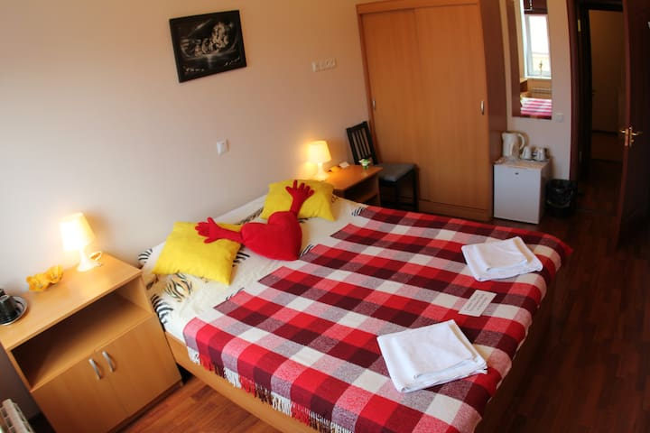 Сomfort room for2 with bathroom!
