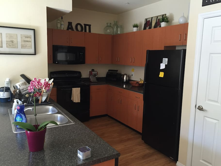 Large kitchen with all appliances included