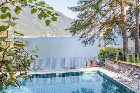 Casa Sylvia-beautiful views & pool - Nesso - Wohnung