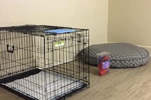 Pet room - We allow dogs, there is a whole pet room available when requested!