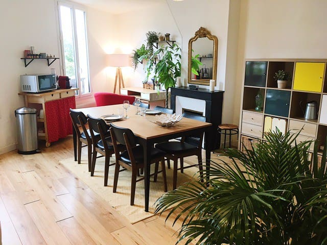 *Saint-Ouen / Garibaldi* cozy flat close flea mkt