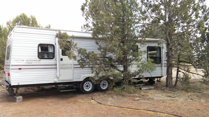 RV in the trees, Privacy and comfort