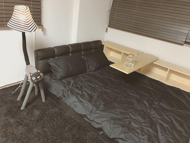 空间超大的阳光大床房 - 서울특별시  - Condominium