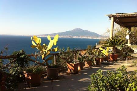 piccola villa nel verde  sul golfo di Napoli - Vico Equense - Talo