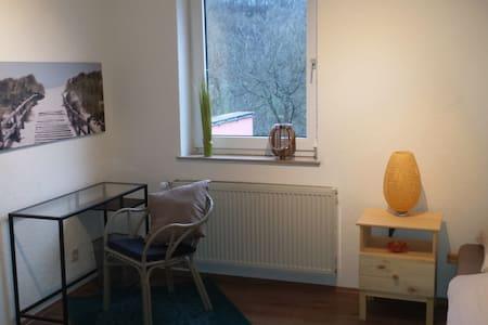 Zimmer in Ferienhaus am Fluss - Oberriexingen - Apartemen