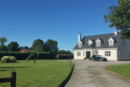 Bright ensuite double/twin + breakfast nr Kilkenny - Callan - Huis