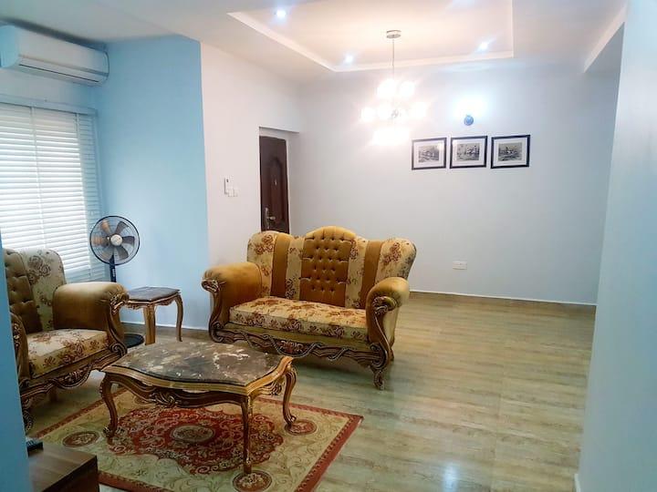 Calm,modern and spacious Abuja 3 bedroom flat