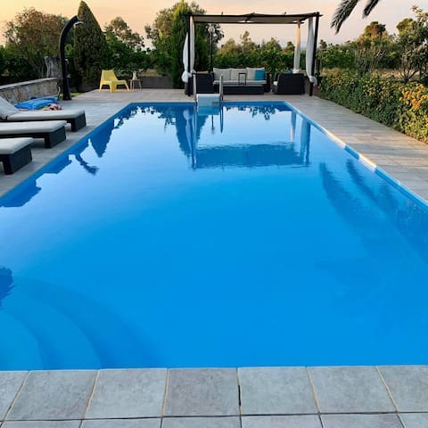 Luxury Villa in Chanioti Halkidiki, own pool