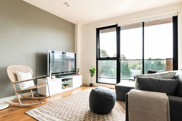 Chic Executive Apartment in Enviable Location - Hawthorn - Appartement