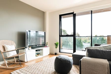 Chic Executive Apartment in Enviable Location - 霍桑(Hawthorn) - 公寓