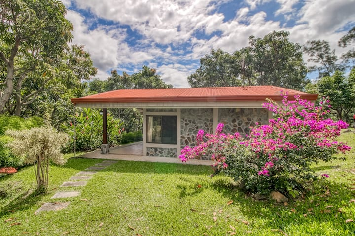 Charming, ground-floor cabins with beautiful garden views and shared pool.