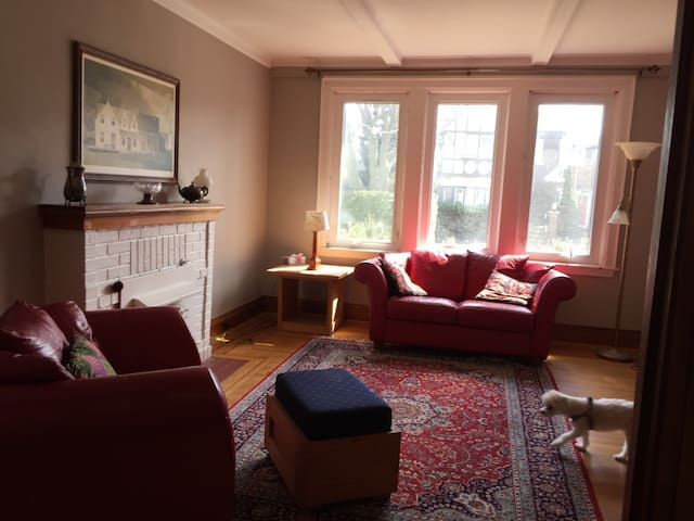 Quiet Westdale Home, Walk 2 McMaster (BJ Rm. wifi)