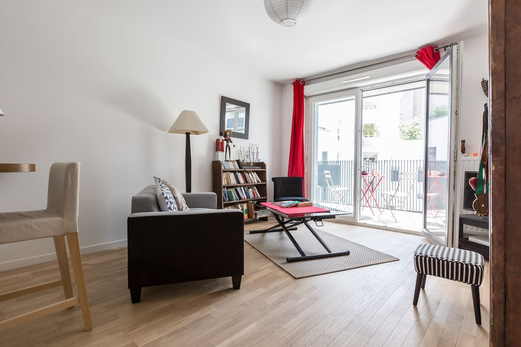 Nid neuf spacieuxcalme proche paris appartements louer - Nid rouge lincroyable appartement paris ...