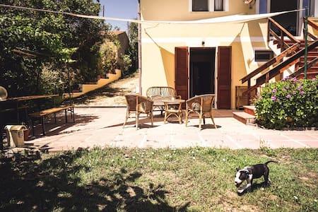 Mezzogiorno - three-room apartment surrounded by greenery in La Maddalena