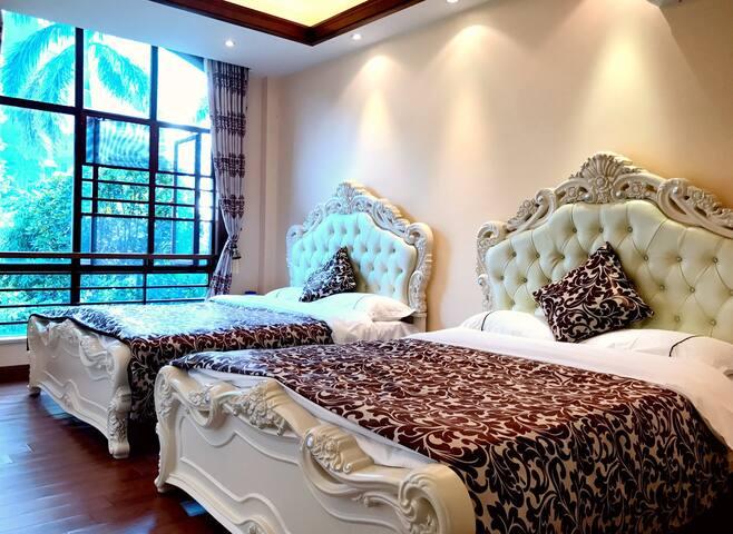 十里银滩豪华海滨度假别墅 - Huizhou - Vila