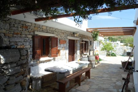 """Mitato"" traditional house in Naxos - Naxos"