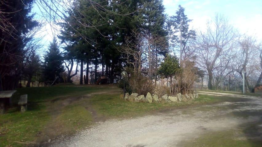 La casa del pellegrino - Lago Acquapartita