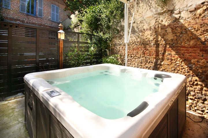 The SPA'ppart, 37° C in Normandy - Bacqueville-en-Caux - Wohnung