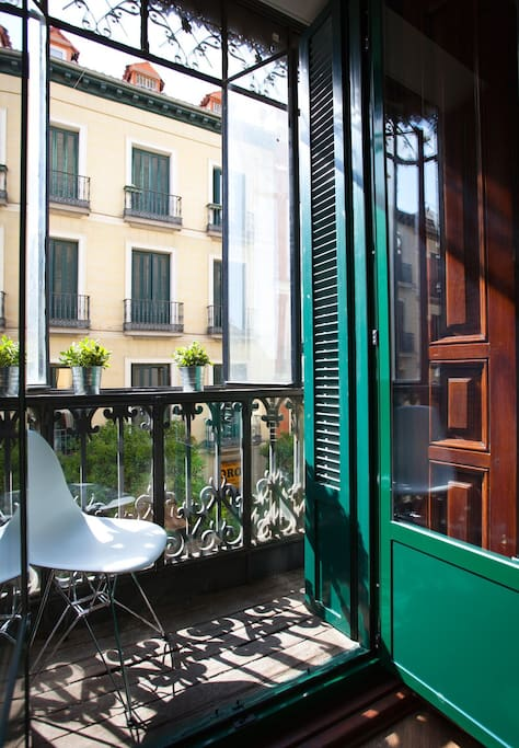 Mediterranean  balconies