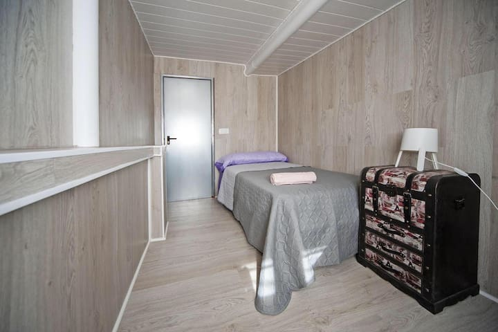 Espectacular habitación individual