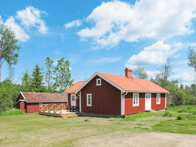 Holiday home See Åsnen for 6 persons