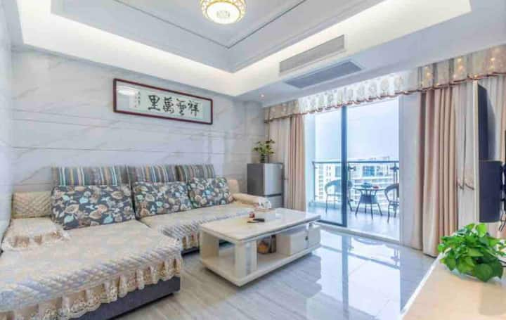 Nanao xian, 汕头市南澳岛青澳镇香湖湾 中国酒店式公寓两房一厅双阳台无敌海景房